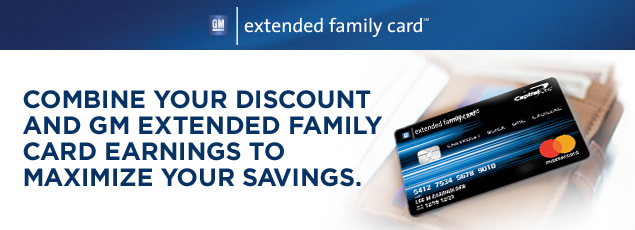 new car discounts family first